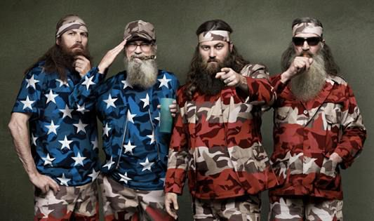 The stars of Duck Dynasty