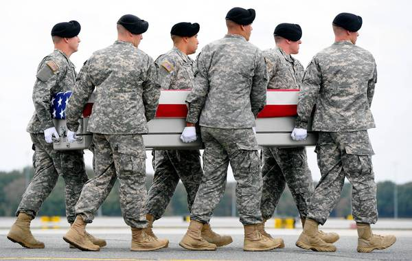 Death benefits restored to military families