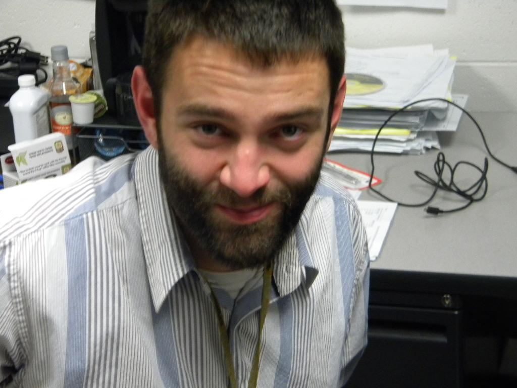 West Tech teacher Dan Higby