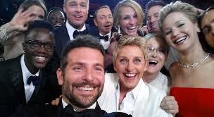 The famous Oscar selfie.