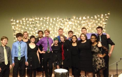 Normal West Jazz Voices appear at Illinois Wesleyan's jazz night