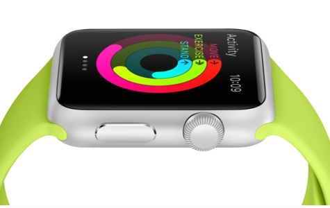 Apple to release their first brand of watches. Shown here is the Apple Watch Sport model.