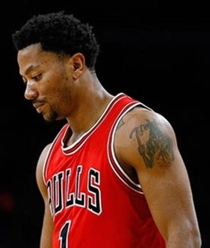Derrick Rose a Point Guard for the Chicago Bulls