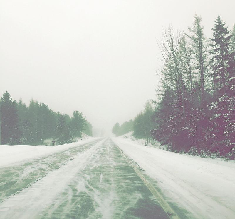 Winter road.  Photo credit: Kate Ter Haar (flickr creative commons)