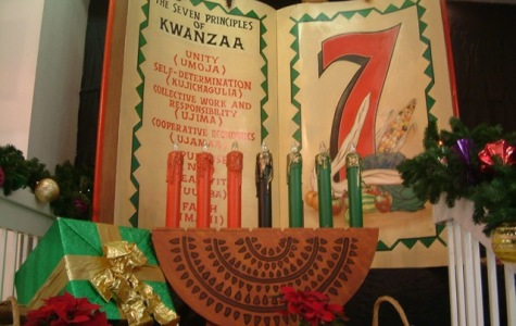 The seven principles of Kwanzaa are displayed here.  Photo credit: soulchristmas creative commons