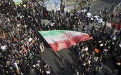 Iran protests go largely unnoticed by West