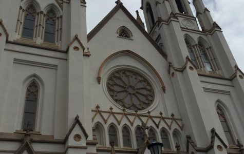 Pictured here is a cathedral in Savannah Georgia.