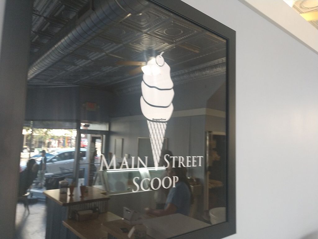Main Street Scoop is located in downtown Bloomington, serving freshly made ice cream to smiling customers year round.