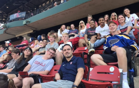 West marketing students hear pitch at Busch Stadium