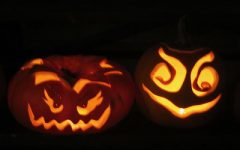 Carved Pumpkins, A common tradition for Halloween (Photo by Phile Squires)